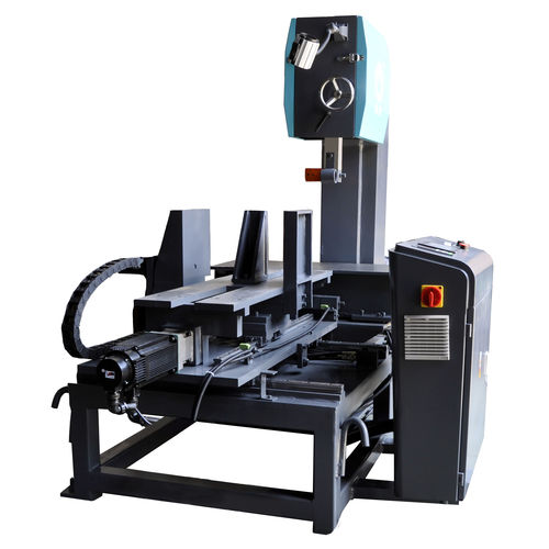 band saw / graphite / vertical / with moving table