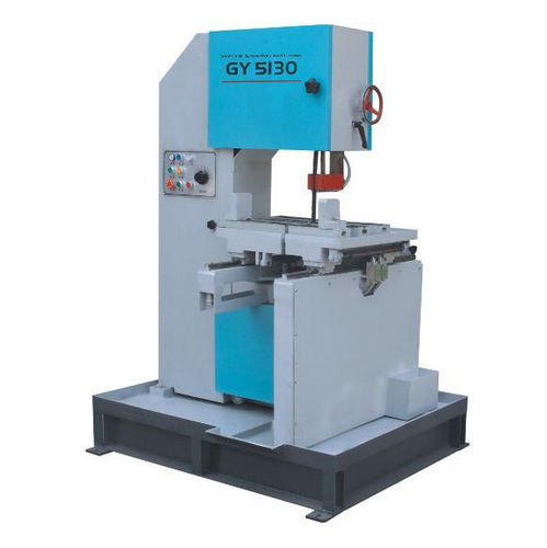 band saw / for steel / for PVC / vertical