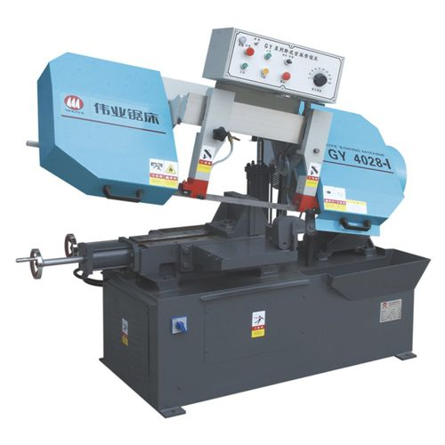 band saw / for metals / for steel / semi-automatic