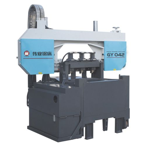 Band saw / for copper / for non-ferrous materials / with cooling system CE 100mmx3pcs GY042 Zhejiang Weiye Sawing Machine Co., Ltd