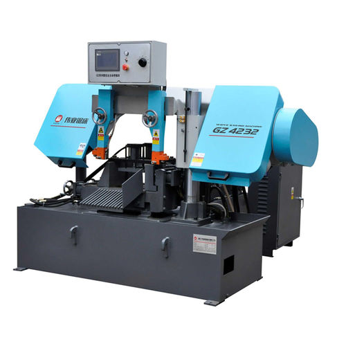 Band saw / for pipes / with cooling system / with roller conveyor CE 320Hx320W GZ4232 Zhejiang Weiye Sawing Machine Co., Ltd