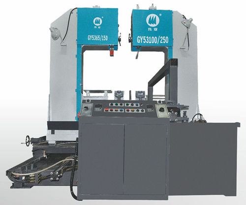 Band saw / with cooling system / precision / variable-speed CE 650H x 450W x 1500L GY53100/250 Zhejiang Weiye Sawing Machine Co., Ltd