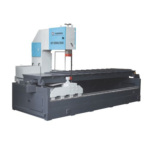 band saw / for metals / with cooling system / longitudinal