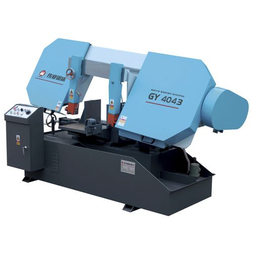 Band saw / for metals / with cooling system / variable-speed CE 350Hx430W GY4043 Zhejiang Weiye Sawing Machine Co., Ltd