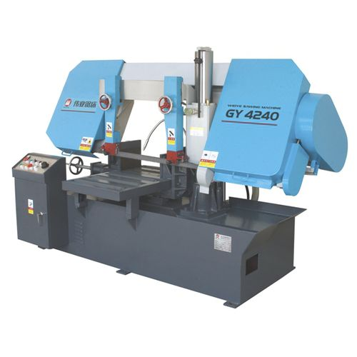 Band saw / for metals / for pipes / with cooling system CE 400Hx500W GY4240 Zhejiang Weiye Sawing Machine Co., Ltd