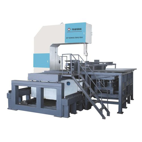 Band saw / for metals / for plastics / for aluminum CE 1500H x 1000Wx 3000L GY53100 Zhejiang Weiye Sawing Machine Co., Ltd