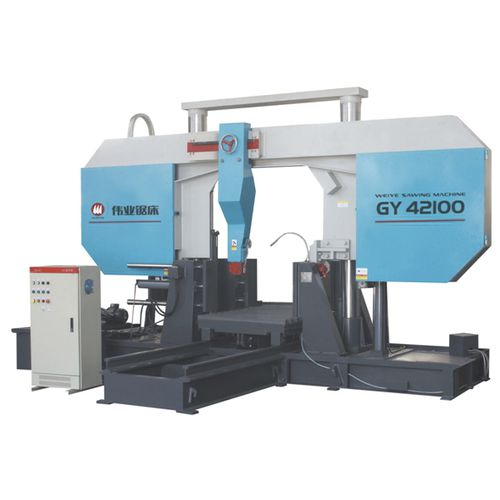 Band saw / for metals / for pipes / with cooling system CE 1000Hx1000W GY42100 Zhejiang Weiye Sawing Machine Co., Ltd