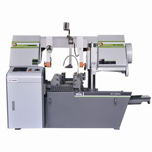band sawing machine / for metals / profile / for bars