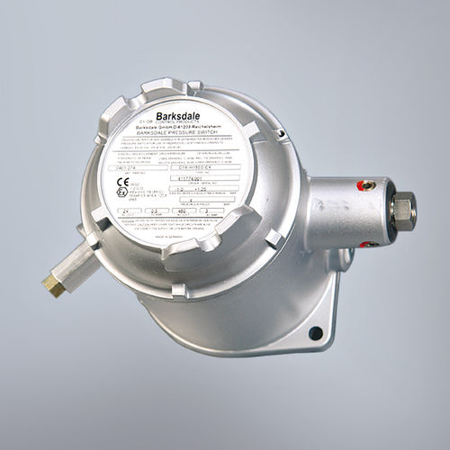 water pressure switch / diaphragm / explosion-proof / stainless steel