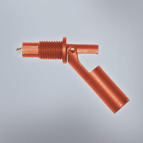 magnetic float level switch / for liquids / horizontal