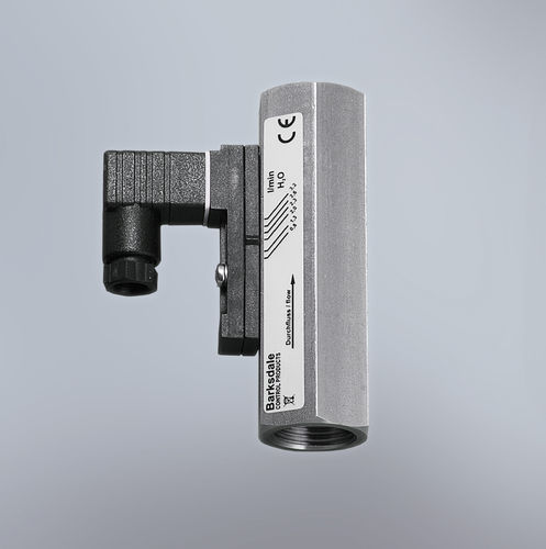 optical flow switch / for liquids / rugged / in-line