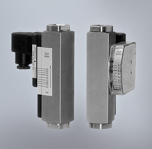 optical flow switch / for liquids / rugged / with indicator