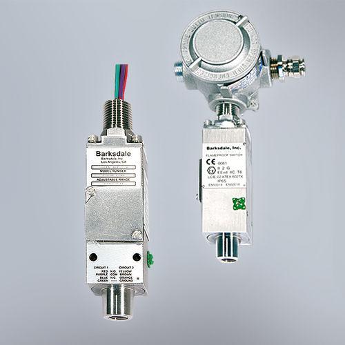 diaphragm pressure switch / ATEX / compact