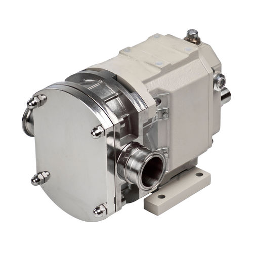 chemical pump / for beverages / electric / rotary lobe