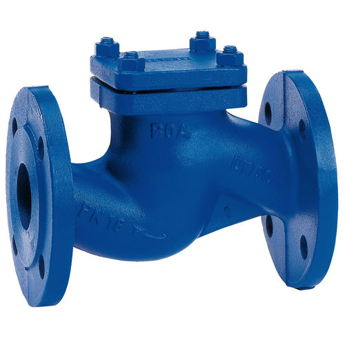 ball check valve / flange / high-temperature / for water