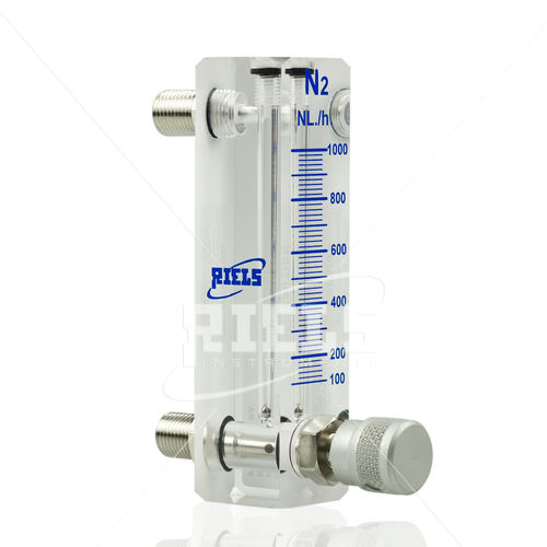 variable-area flow meter / for gas / for liquids / precision