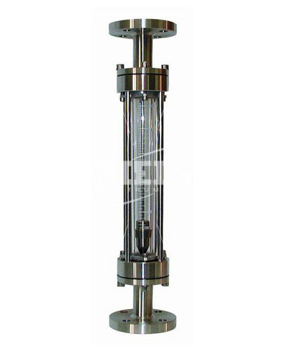 variable-area flow meter / for gas / for liquids / glass tube
