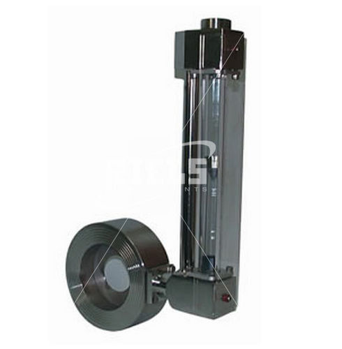variable-area flow meter / for liquids / direct-reading / metal tube