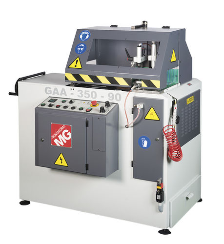 Stationary cut-off saw / circular / for aluminum / with cooling system GAA-350-90 TRONZADORAS MG