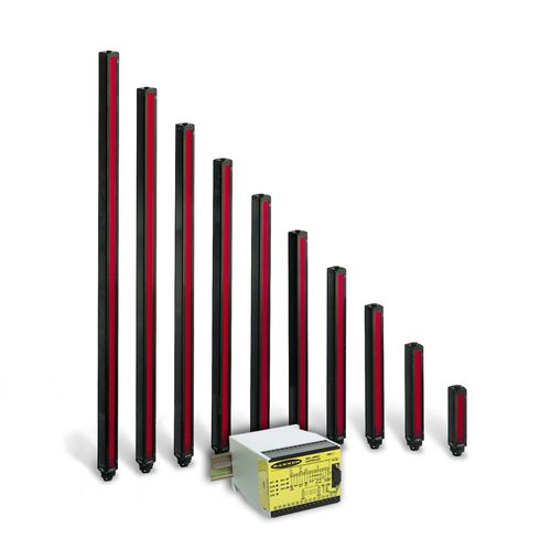 measuring light curtain / multibeam / through-beam / IP65
