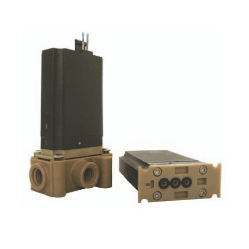 direct-operated solenoid valve / 3-way / NC / for gas