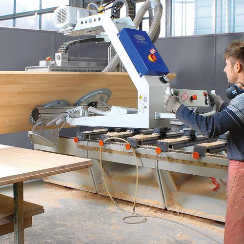 sheet metal vacuum lifting device / for wooden sheets / pneumatic / horizontal