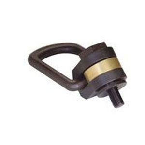 articulated hoist ring / screw-in / forged / side-pull