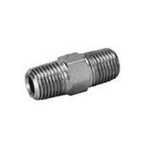 screw-in fitting / straight / hydraulic / metal