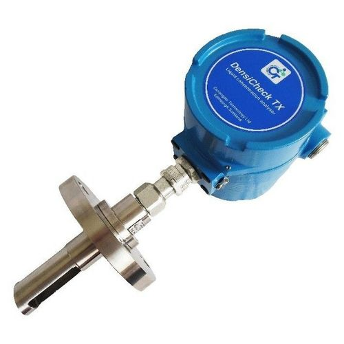 concentration monitoring device / density / for liquids / online