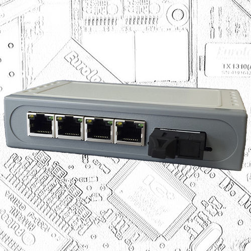Industrial network switch / fiber optic ES-0104-M Eurolan Ltd.