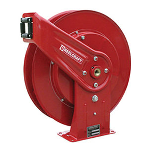 Pressure wash hose reel / self-retracting / fixed / for water PW7600 OHP  Reelcraft Industries, Inc.