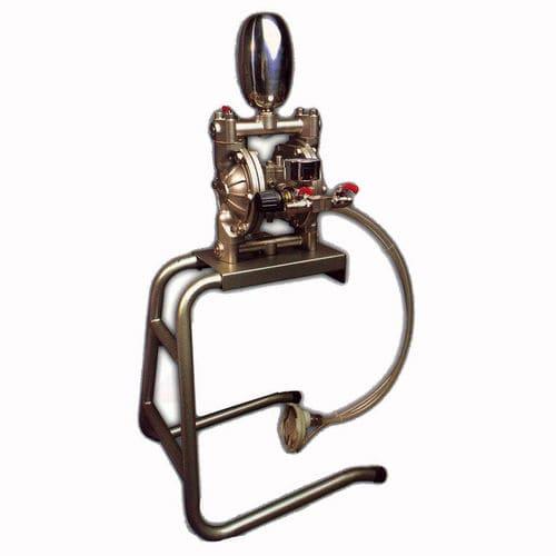paint pump / normal priming / double-diaphragm / industrial
