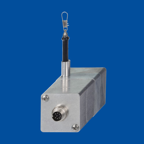 draw-wire position sensor / potentiometer / with SSI interface / CANopen