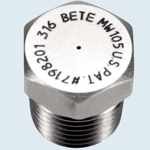 Spray nozzle / cooling / misting / polypropylene MW series  BETE