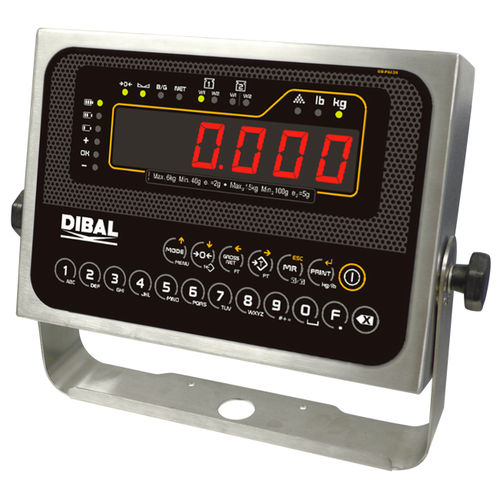 LED display weight indicator - DIBAL, S.A.