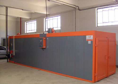 drying oven / curing / truck-in / electric