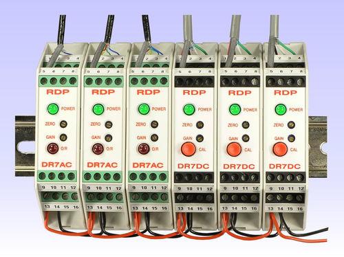 voltage amplifier / isolation / electronic / for strain gauge sensors