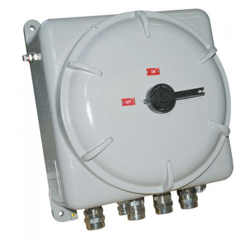 wall-mounted terminal box / explosion-proof / flameproof / aluminum alloy