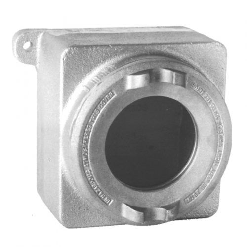 wall-mount casing / rectangular / explosion-proof / flameproof