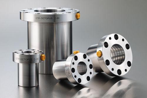 rigid coupling / for shafts / steel / tempered