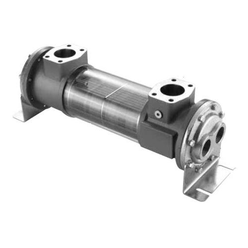 tubular heat exchanger / water/oil