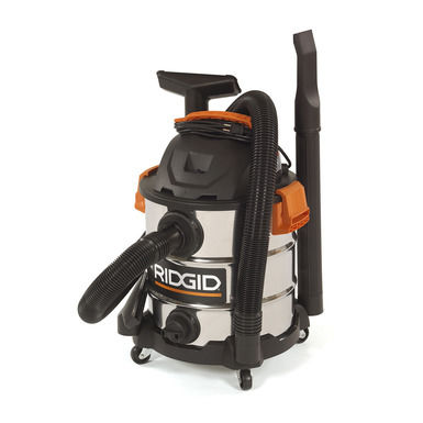 wet and dry vacuum cleaner / electric / industrial / stainless steel