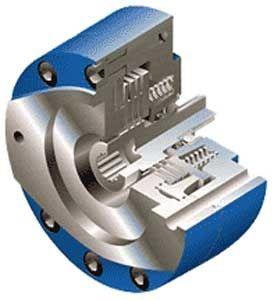 multiple-disc brake / spring / hydraulic release
