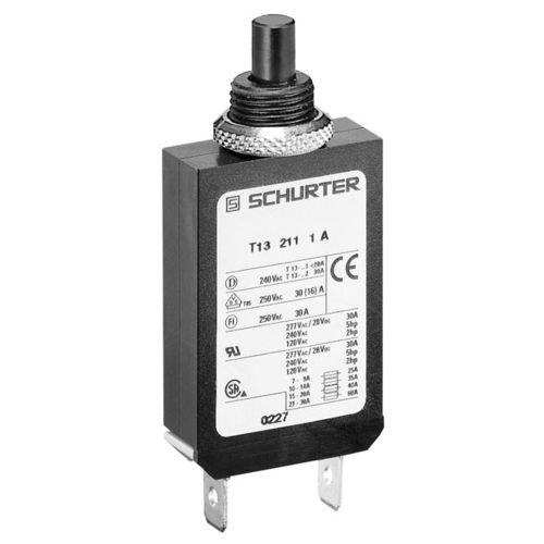 thermal circuit breaker / single-pole / modular