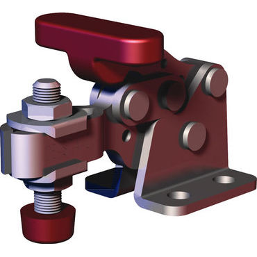 horizontal toggle clamp / hold-down / stainless steel / compact