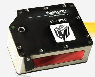 linear displacement sensor / non-contact / laser / digital