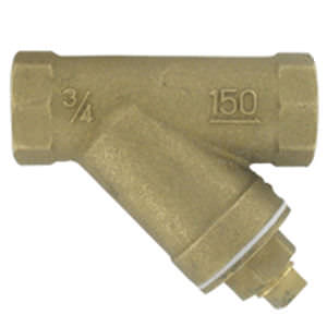 Strainer filter / Y / dust / brass -10 - 250 ºF (-23 - 121 ºC) | BYS series DWYER