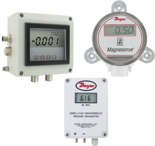 differential pressure transmitter / membrane / analog