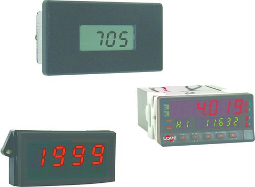 Temperature indicator / digital / panel-mount DWYER