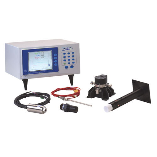 digital hygrometer / benchtop / dew-point / relative humidity